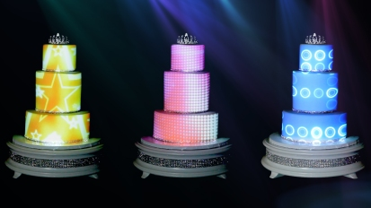 Wedding Cake 3D Vídeo Mapping